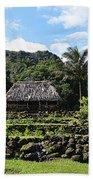 Ancient Taro Gardens In Kauai Beach Towel