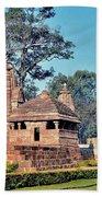 Ancient Temple Complex  - Amarkantak India Beach Towel