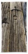 Ancient Timber Beach Towel