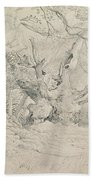 Ancient Trees Lullingstone Park Beach Towel