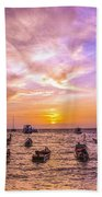 And Every Sunset Will Bring You That Much Nearer... Beach Towel