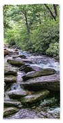 ...and The Creek Don't Rise Beach Towel