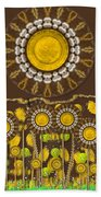 And The Sun Started To Shine Pop Art Beach Towel