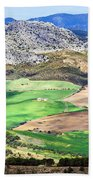 Andalucia Landscape In Spain Beach Towel