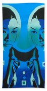 Android Twins Beach Towel