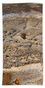 Anemone Geyser In Upper Geyser Basin Beach Towel