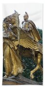 Angel And Tecumseh Sherman Beach Towel