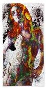 Angel Of Debris Beach Towel