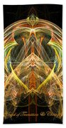 Angel Of Transformation And Change Beach Towel