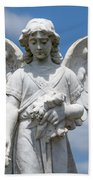 Angel Tombstone Series Beach Towel