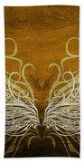 Angel Wings Gold Beach Towel