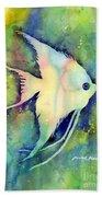 Angelfish I Beach Towel
