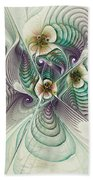 Angelic Entities Beach Towel by Deborah Benoit