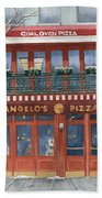 Angelo's On 57th Street Beach Towel