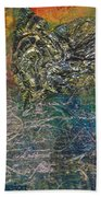 Angels And Mermaids Beach Towel by Cindy Johnston
