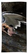 Angels- He Will Bring Peace To Your Heart Beach Towel