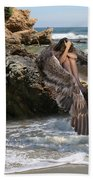 Angels- Shhh Stand Still And Be Quiet Beach Towel