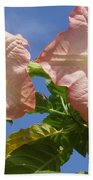 Angel's Trumpet Beach Towel