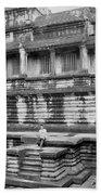 Angkor Wat Cambodia 3 Beach Towel