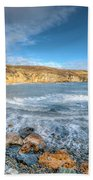 Anglesey Seascape Beach Towel