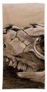Animal Bones Beach Towel