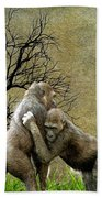 Animal - Gorillas - Isn't Love Grand Beach Towel