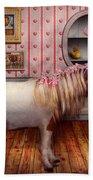 Animal - The Pony Beach Towel by Mike Savad