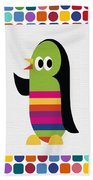 Animals Whimsical 1 Beach Towel
