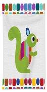 Animals Whimsical 3 Beach Towel