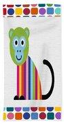 Animals Whimsical 6 Beach Towel