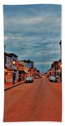 Annapolis Beach Towel by Benjamin Yeager