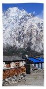 Annapurna Mountain View, Nepal Beach Sheet