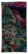 Another Day In Paradise - Digital 1 Beach Towel
