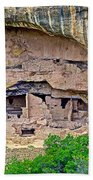Another Dwelling On Chapin Mesa In Mesa Verde National Park-colorado  Beach Towel
