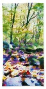 Another Enchanted Forest Beach Towel