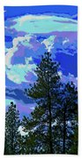 Another Fine Day On Planet Earth Beach Towel