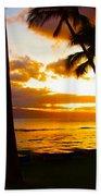 Another Maui Sunset Beach Towel