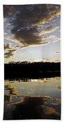 Another Sunset In The Jungle Beach Towel