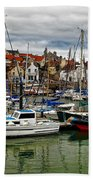 Anstruther Harbour Beach Towel
