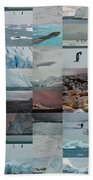 Antarctic Mosaic Beach Towel