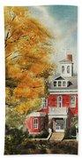 Antebellum Autumn Ironton Missouri Beach Towel
