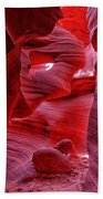 Antelope Canyon Mummy 2 Beach Towel