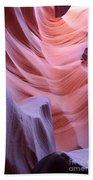 Antelope Canyon Waves Beach Towel