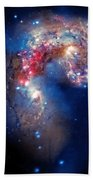 Antennae Galaxies Collide 2 Beach Towel