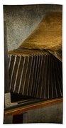 Antique Camera Beach Towel by Susan Candelario