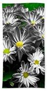 Antique Flowers Beach Towel