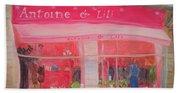 Antoine & Lili, 2010 Oil On Canvas Beach Towel