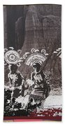 Apache Crown Dancers Date And Location Unknown 2013 Beach Towel
