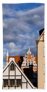 Apartment Houses In Gdansk Beach Towel