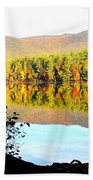 Aperture Beach Towel